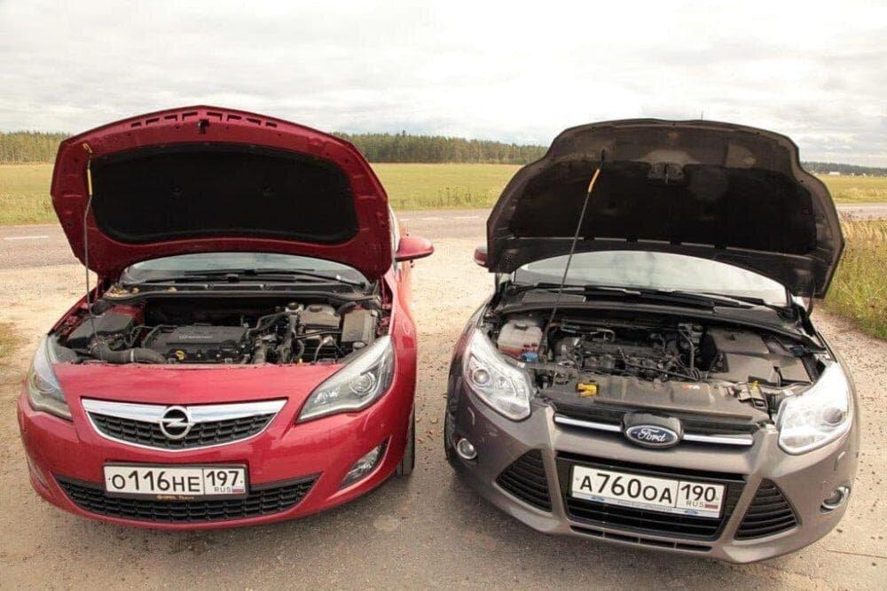 какие двигатели лучше ford или opel