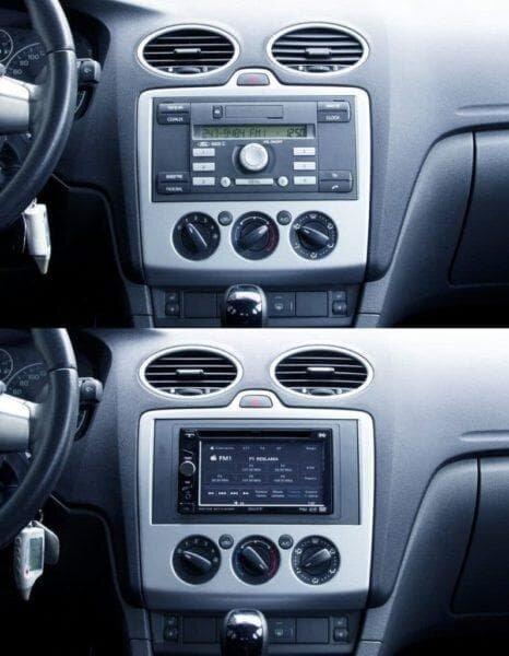Замена штатной магнитолы на Форд Фокус 2