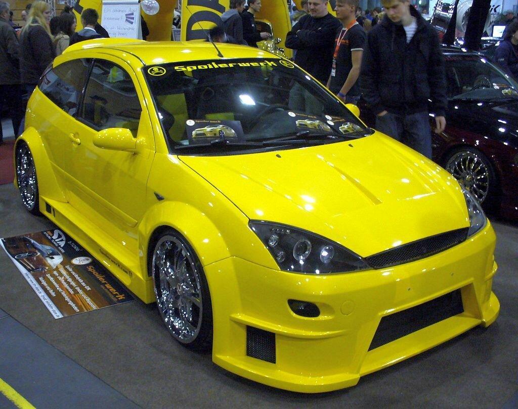 Тюнинг форд фокус 1