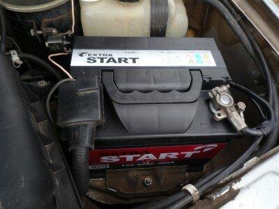 Зарядка аккумулятора, не снимая с автомобиля