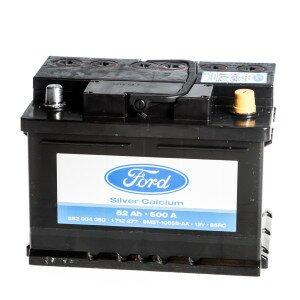 Размер аккумулятора на Форд Фокус 2