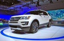 Новый Форд Эксплорер 2017 года: технические характеристики, фото, видео