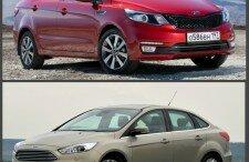 Что лучше Форд Фокус или Киа Рио: сравнение интерьера и технических характеристик