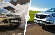 Какой автомобиль лучше: Форд Куга или Киа Спортейдж?